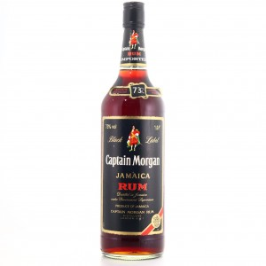 Captain Morgan Black Label Rum 1 Litre 1980s / 73%