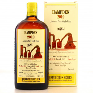 Hampden HGML 2010 Habitation Velier 9 Year Old