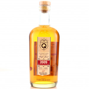 Don Q 2009 Signature Release Cask Strength