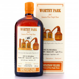 Worthy Park WPL 2007 Habitation Velier 10 Year Old