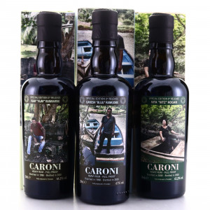 Caroni Velier Employees 3rd Release Gift Set 3 x 20cl