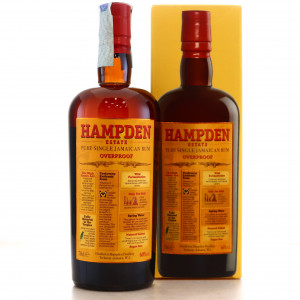 Hampden 8 Year Old Overproof