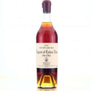 Valdespino Legend of Cuban Rum pre-1962
