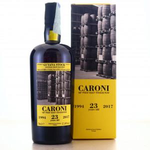 Caroni 1994 Velier 23 Year Old 100 Proof Heavy / Guyana Stock