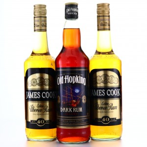 James Cook and Old Hoking German Rum Selection 3 x 70cl