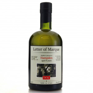 Hampden DOK 2009 TheRumCask 8 Year Old 50cl / Letter of Marque