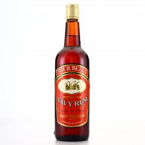 Four Bells Navy Rum 1970s