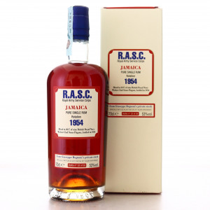 Velier R.A.S.C. Jamaica Rum 1954 1st Release / 70th Anniversary