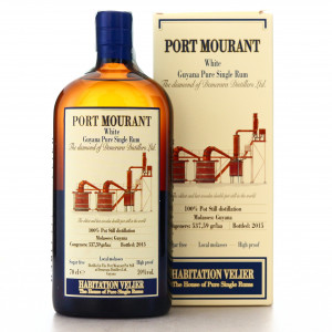 Port Mourant Habitation Velier White Rum 2015