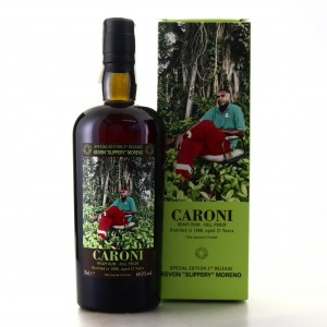 Caroni 1998 Velier 21 Year Old Full Proof Heavy / Kevon 'Slippery' Moreno