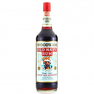 Wood's 100 Proof Old Navy Rum 1 Litre