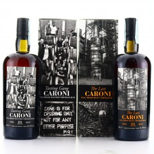 Caroni 1996 Velier 23 Year Old Full Proof 2 x 70cl / Tasting Gang & 'The Last Caroni'