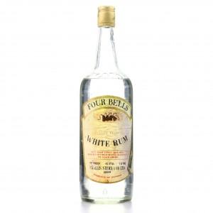 Four Bells White Rum 1 Litre 1970s