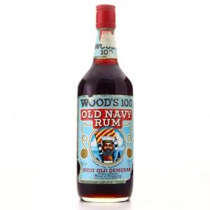 Wood's 100 Proof Old Navy Rum 1980s