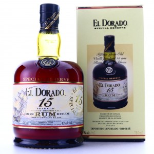 El Dorado 15 Year Old Special Reserve 75cl / US Import