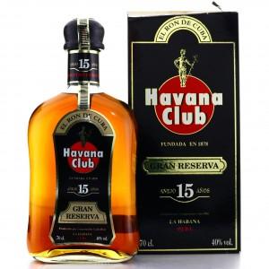 Havana Club 15 Year Old Gran Reserva