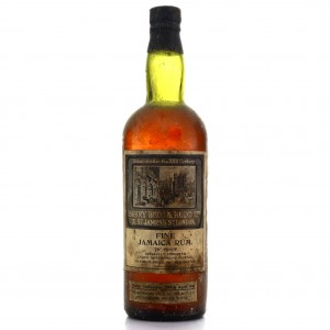 *Berry Brothers and Rudd Fine Jamaica Rum 1940s