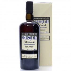 Foursquare 2004 Velier 14 Year Old Patrimonio