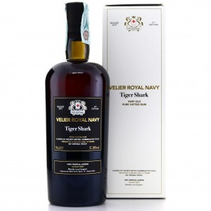 Tiger Shark Velier Royal Navy Very Old Rum 2nd Edition