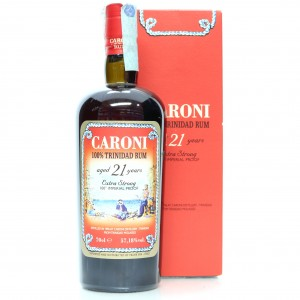 Caroni 1996 Velier 21 Year Old 100 Imperial Proof