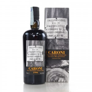 Caroni 1996 Velier 20 Year Old Full Proof Heavy