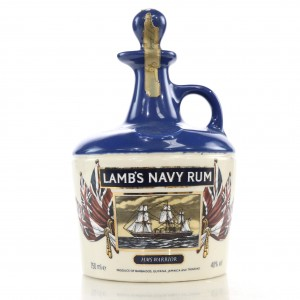 Lamb's Navy Rum Decanter 1980s / Victorian Ships Collection