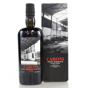 Caroni 1996 Velier 20 Year Old Blended Guyana Stock / LMDW 60th Anniversary Trilogy