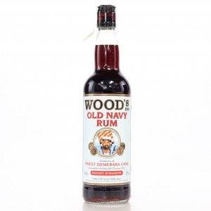 Wood's 100 Proof Old Navy Rum 