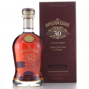 Appleton Estate 30 Year Old 2018 Release 75cl / US Import