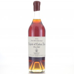 Legend of Cuban pre-1962 Valdespino Rum