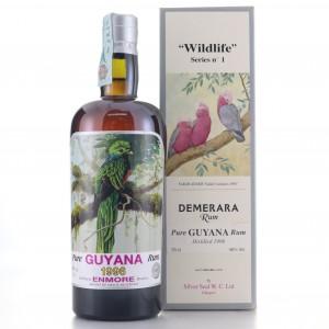 Enmore 1996 Silver Seal Pure Guyana Rum / Wildlife No.1