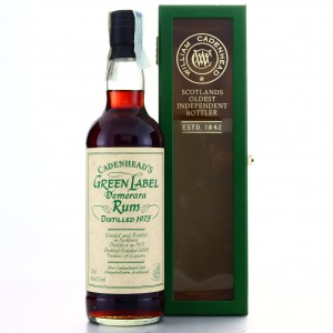 Cadenhead's 1975 Green Label Demerara
