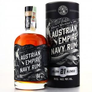 Albert Michler's Austrian Empire Navy Rum Solera 21 Year Old