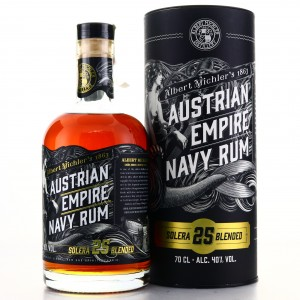 Albert Michler's Austrian Empire Navy Rum Solera 25 Year Old