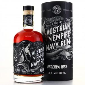 Albert Michler's Austrian Empire Navy Rum Reserve 1863