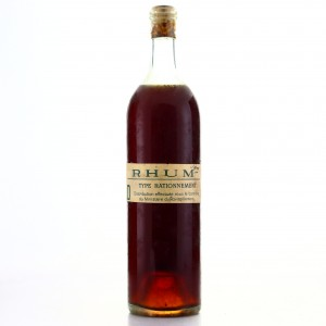Rhum Rationnement Pre-1945