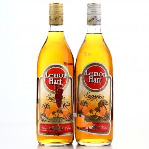 Lemon Hart Superior Jamaica Rum 1980s x 2