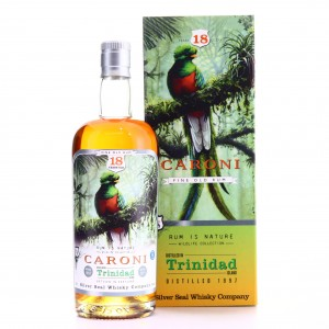 Caroni 1997 Silver Seal 18 Year Old Cask / Rum is Nature