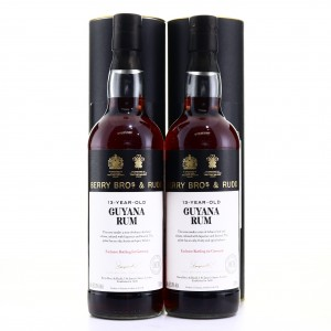 Guyana Rum 13 Year Old Berry Brothers and Rudd 2 x 70cl / Kirsch Whisky