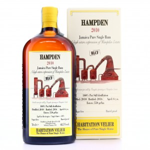 Hampden HLCF 2010 Habitation Velier 6 Year Old