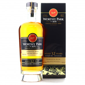 Worthy Park 2006 Cask Strength 12 Year Old