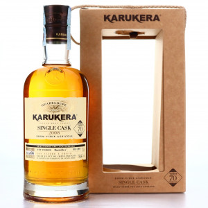 Karukera 2008 Single Cask #66 / Velier 70th Anniversary