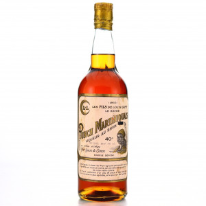 Les Fils de Louis Lamy 20 Year Old Punch Martinique circa 1970s