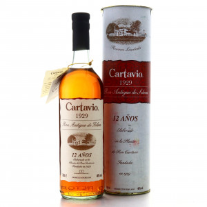 Cartavio '1929' Solera 12 Year Old