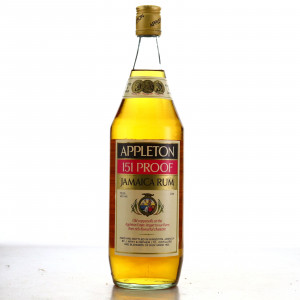 Appleton 151 Proof 1 Litre 1980s