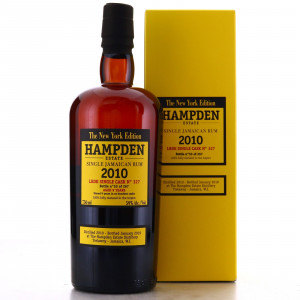 Hampden LROK 2010 Single Cask 9 Year Old #327 75cl / New York Edition