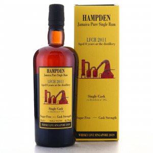 Hampden LFCH 2011 Habitation Velier 8 Year Old Single Cask #295 / Whisky Live 2019