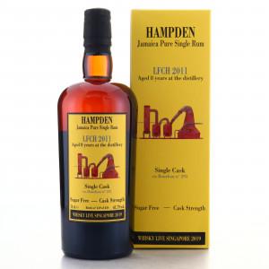 Hampden LFCH 2011 Habitation Velier 8 Year Old Single Cask #295 / Whisky Live 2019