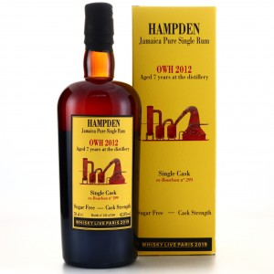Hampden OWH 2012 Habitation Velier 7 Year Old / Whisky Live 2019