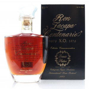Ron Zacapa Centenario XO Premio Platino Edition